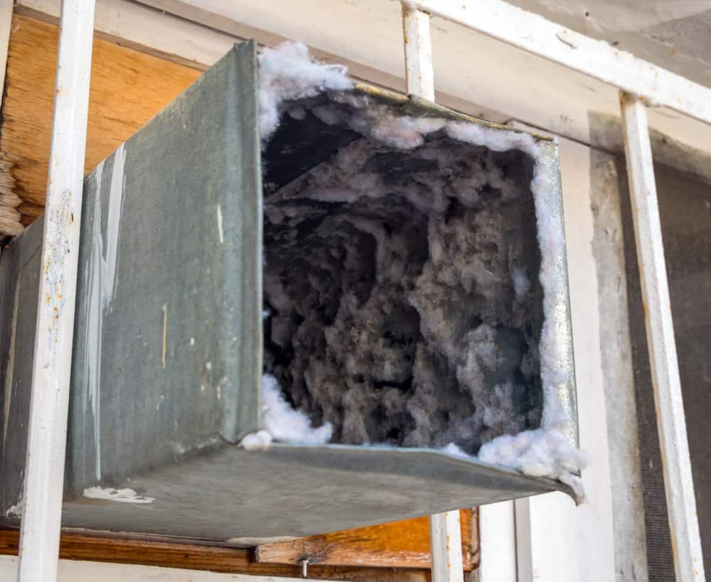 AC Cleaning - Dirty Air Duct
